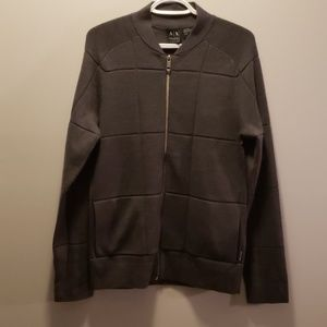 Mens size medium Armani Exchange Full Zip